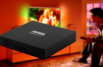 Mecool KT1 DVB-T/T2/C гибридная Смарт ТВ приставка